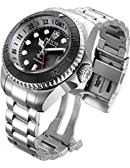Invicta Mens 16966 Hydromax Analog Display Swiss Quartz Silver Watch