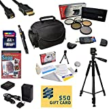 47th Street Photo Best Value Accessory Kit For the Nikon D100, D200, D300, D300s - Kit Includes 16GB High-Speed SDHC Card + Card Reader + Extra Battery + Travel Charger + 67MM 5 Piece Pro Filter Kit (UV, CPL, FL, ND4 and 10x Macro Lens) + HDMI Cable + Pad