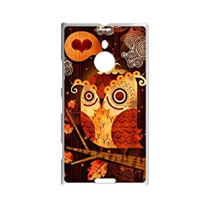 Nokia Lumia 1520 Goo goo owl Phone Back Case Use Your Own Photo Art Print Design Hard Shell Protection TY116378