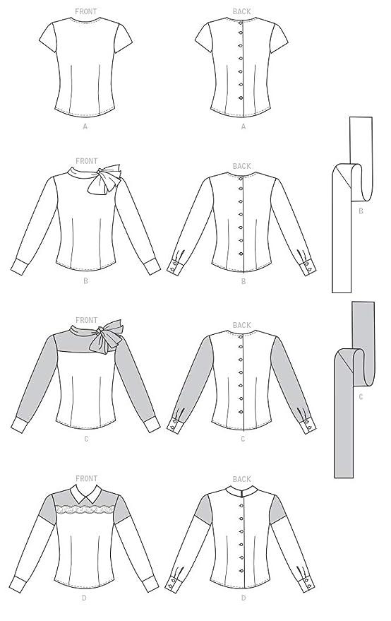 Butterick Patterns MCCALL s Patterns 6419 E5, Patrones de Costura ...