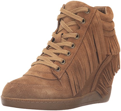 Wedge Russet Ash Fringe Fashion Sneakers Beatnik 8TAqUg