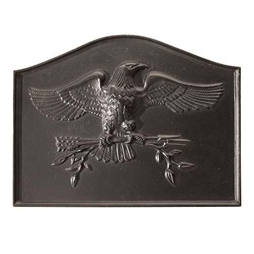 Minuteman International American Eagle Cast Iron Fireback by Minuteman International