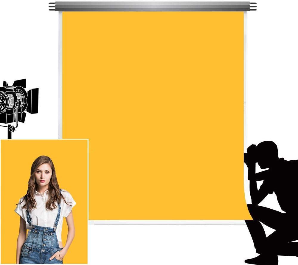 Kate 5x7ft//1.5x2.2m Fondo de Foto de luz Verde Microfibra Fondos Abstractos sin Costura para Estudio de fotograf/ía