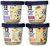 quaker oatmeal container - Quaker Overnight Oats, Variety Pack (PACK OF 4 CONTAINERS)