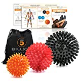 5BILLION Spiky Massage Balls Lacrosse Balls