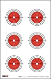 100yd rifle target - 25, 50, 75 Yard Rifle Targets (25 Pack) by EZ2C | Long Range Shooting Paper Targets (100 yd) | Bullseye Target Style | High Visibility Firearms, Pistol, Airsoft And BB Gun Rifles Targets 11