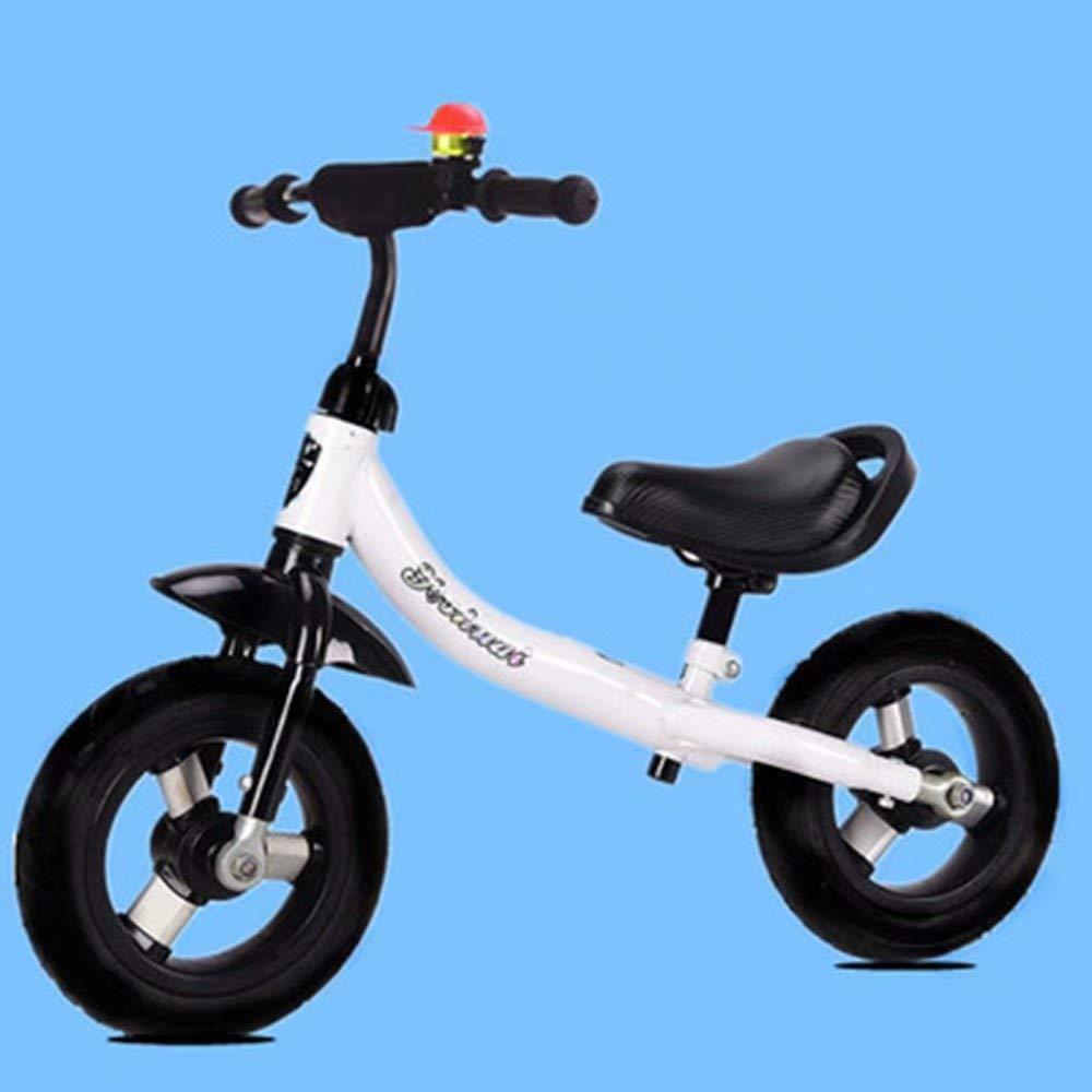Roue Vide en Titane Blanc 2-6 Ans  LL-  voiture Vélos d'équilibre pour Enfants - Vélo d'équilibre léger pour Les Tout-Petits et Les Enfants - 1.5-7 Ans