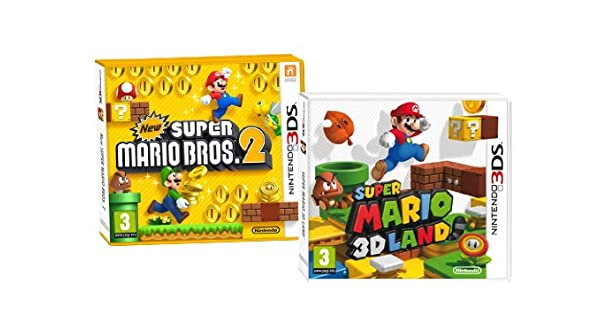 Pack New Super Mario Bros 2 + Super Marioland: Amazon.es: Videojuegos