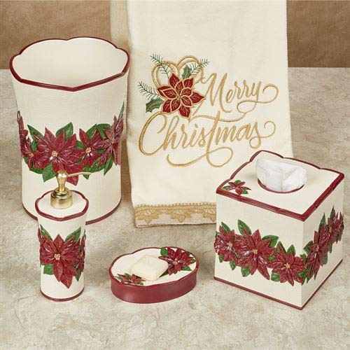 Touch of Class Poinsettia Charm Lotion Soap Disepnser Champagne - Palace Soap Dispenser