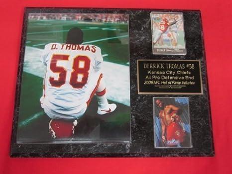 meet b52ca 3c10a Amazon.com: Derrick Thomas Kansas City Chiefs 2 Card ...
