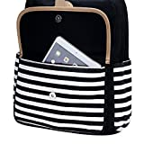 FLYMEI Canvas Backpack for Teen