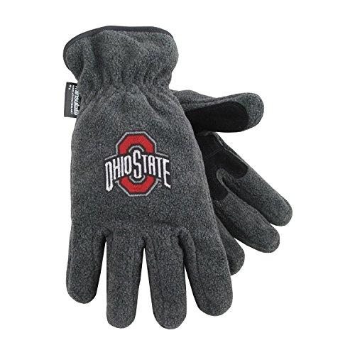 Ohio State University Heavy-Weight Fleece Gloves - Heavyweight Ohio Gloves