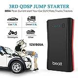 BEATIT B10 QDSP 800A Peak 12V Portable Car