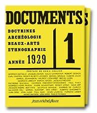 Documents, année 1929 et 1930 par Revue Documents