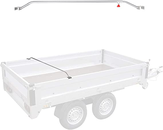 Apt Anhänger Flachplanenbügel Aluminium Verstellbar 108 146 Cm Knaufschraube Auto