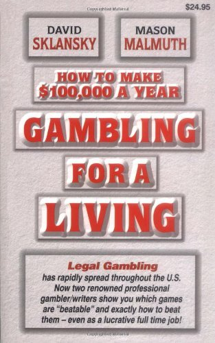 Gambling for a living sklansky pdf treasureislandresort and casino