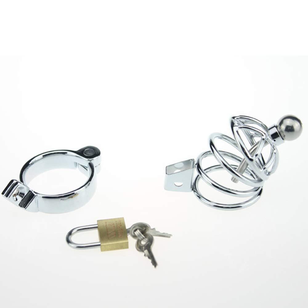 SYXL Male CB Chastity Lock Aleación de Zinc CB Male Penis Cage Suministros Divertidos (Tamaño : 40mm) 1af348