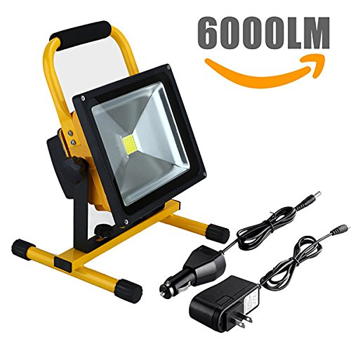 rechargeable led flood light - 3