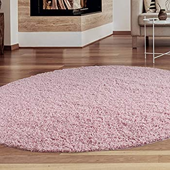 Amazon.com : iCustomRug Cozy and Soft Solid Shag Rug 4