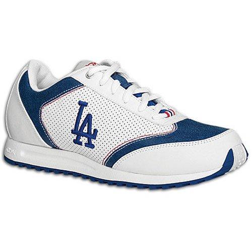 Reebok Womens Mlb Dodgers Talent Sneaker Blanc / Bleu / Rouge