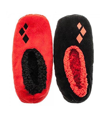 Harley Quinn Soft and Cozy Womens Soft Slipper Socks (S/M, - Shop Harley Quinn