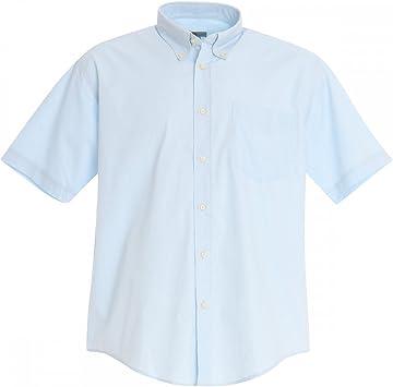 Camisas de manga corta para hombres - Azul claro, S