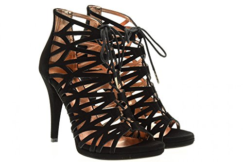 ALBANO 1157 BLACK Sandalen Schuhe Black