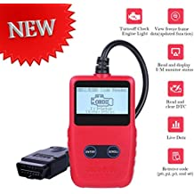 [2018 Upgraded] OBD2 Scanner Auto Car OBDii Code Reader CAN Diagnostic Scan Handheld Tool Check Engine Light Trouble Codes Vehicle AUTMOR