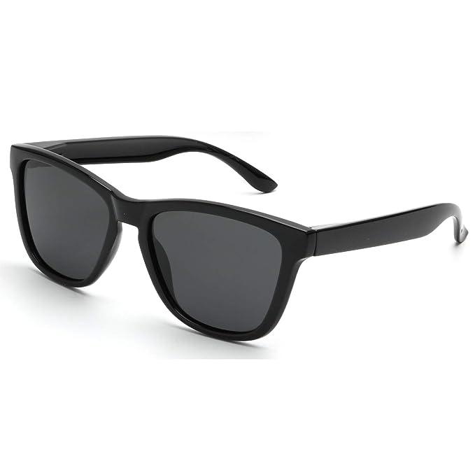 Amazon.com: Gafas de sol unisex polarizadas retro clásico de ...