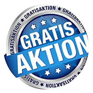 """alfombrilla de ratón Botón del indicador de """"acción gratis"""" azul / plata - ronda - 20cm"""
