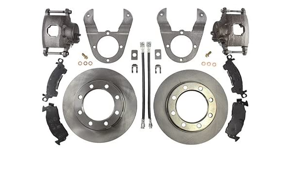 14 bolt disc brake conversion kit with hardware