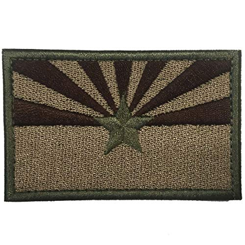 (SpaceCar USA The Grand Canyon State Arizona AZ State Flag Tactical Morale Patch 3