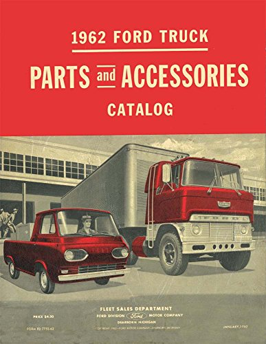 bishko automotive literature 1962 Ford Truck Part Numbers Book List Catalog Interchange Drawings - Ford Truck Parts Catalog