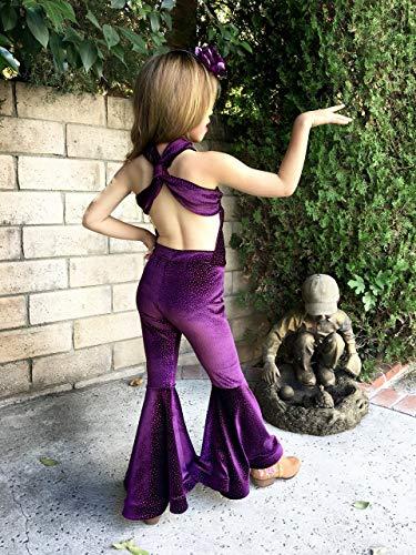16c5d6db3 Selena Costume Purple Velvet outfit Girls Size – Handmade Makers