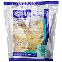 Virbac C.E.T. HEXtra Premium Oral Hygiene Chews, Perro mediano, 30 unidades