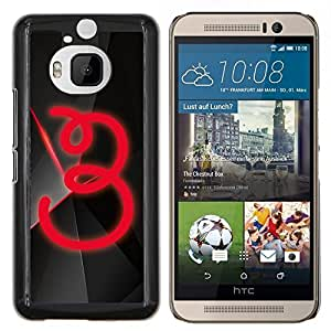 "Be-Star Único Patrón Plástico Duro Fundas Cover Cubre Hard Case Cover Para HTC One M9+ / M9 Plus (Not M9) ( 3"" )"