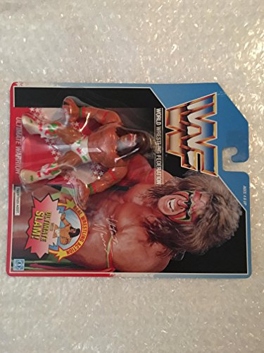 (1990 WWF Ultimate Warrior Blue Card)