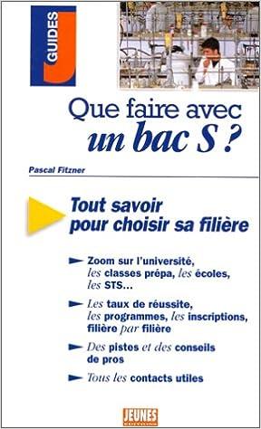 En ligne téléchargement Que faire avec un Bac S ? epub, pdf