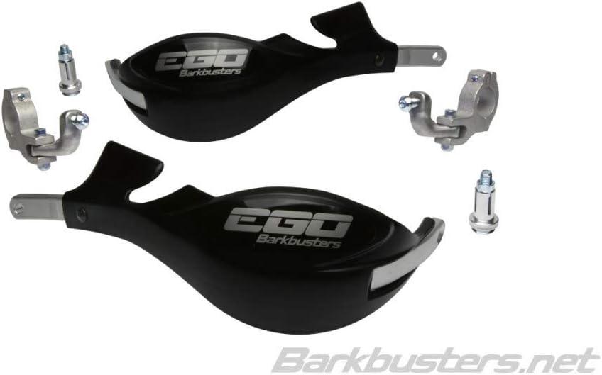 Motodak Handschutz-Set Barkbuster Ego Montage 2 Punkte Lenker /Ø 28,6 mm schwarz