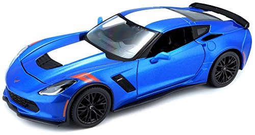 Maisto 1:24 Scale 2017 Corvette Grand Sport Diecast Vehicle (Colors May Vary) ()