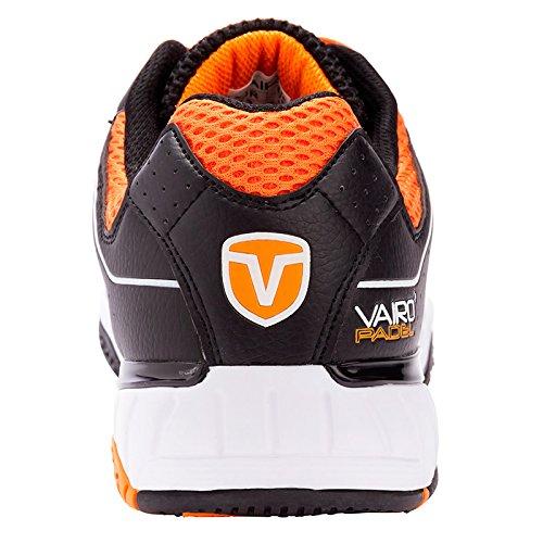 Zapatillas de pádel Vairo Tour Black / Orange (46): Amazon.es ...