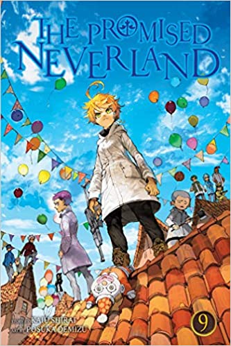 Amazon.com: The Promised Neverland, Vol. 9 (9 ...