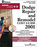 img - for Dodge Repair & Remodel Cost Guide 2001 book / textbook / text book