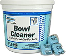 Stearns Water Flakes Bowl Cleaner in Premeasured Packets (2 Pails per Case; 90 - 0.5 oz. Packets per Pail)