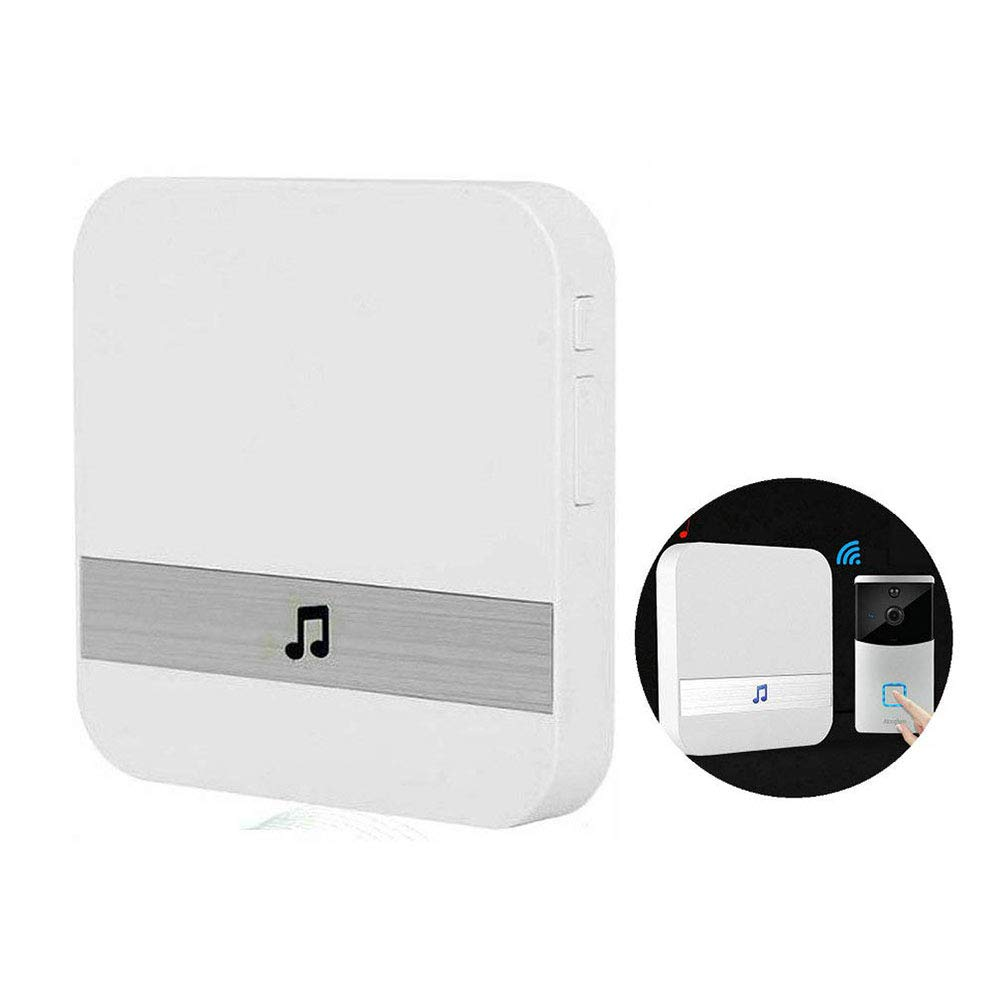 Black Wireless New Doorbell Chime Door//Entry Chime Window Sensor Ding-Dong Alarm Chime,Chime