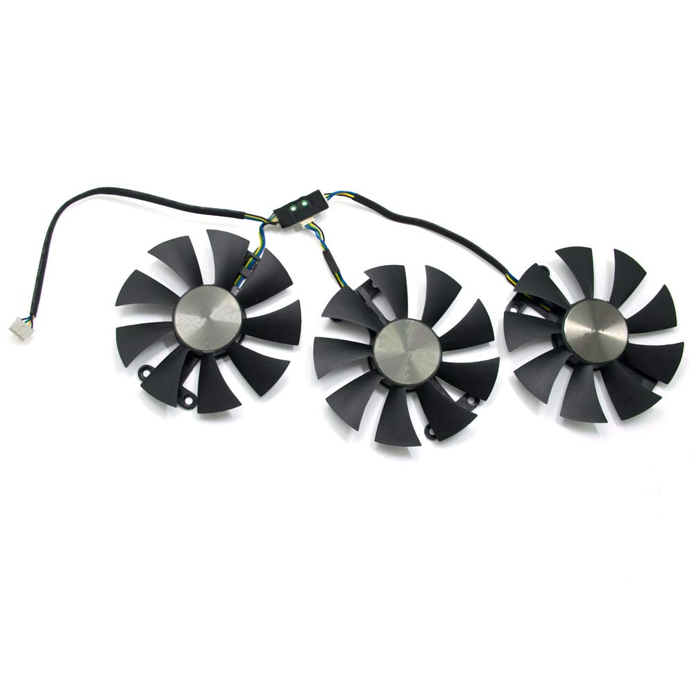 Beaster c 85mm Cooling Fan for ZOTAC GTX 980TI AMP GTX Titan X ARCTICSTORM Graphics Card Cooler Fan by Beaster