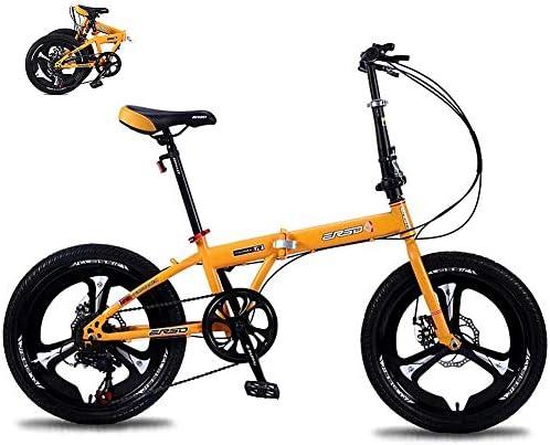 折りたたみ自転車、可変速大人用子供用自転車、軽量衝撃吸収マウンテンバイク、オフロードグレードの滑り止めタイヤ自転車ユニセックス