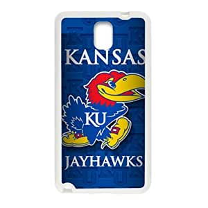 SKULL Kansas Jayhawks Brand New And Custom Hard Case Cover Protector For Samsung Galaxy Note3