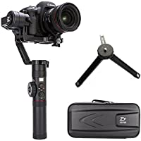 Zhiyun Crane 2 2017 (newest ver) 3 axis Handheld Gimbal with Follow Focus 3.2kg Payload OLED Display for Canon 5D2, 5D3, 5D4, GH3, GH4, Nikon Sony DSLR Camera