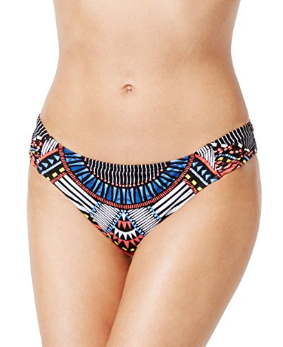 Bar III Women's Printed Hipster Bikini Bottom, Multi, (Printed Hipster)